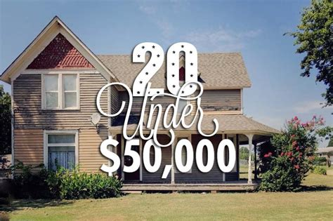 20 Houses Under $50,000: September 2016 Edition   CIRCA