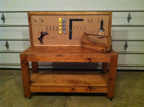 kid work bench build wooden childs workbench plans download chest workout plans mass