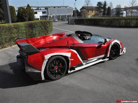 Lamborghini Roadster Veneno by Spotted Lamborghini Veneno Roadster Outside Factory