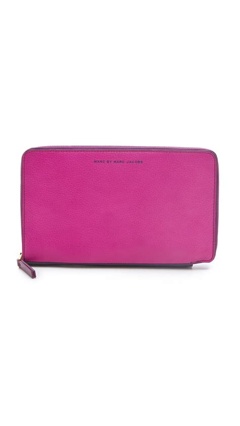 Marc By Marc Dot Travel Wallet by Marc By Marc Sophisticato Travel Wallet In Pink