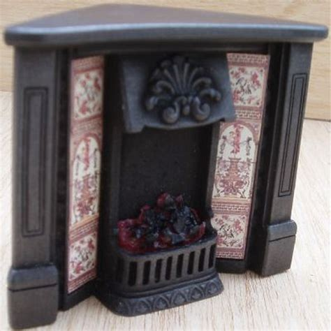 dolls house fireplaces dolls house corner fireplace with glowing fire fireplace f5c from bromley craft