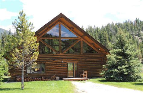 cabin big gallatin river getaway powda big sky big cabin