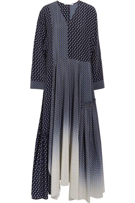 Dominiq Maxi lyst stella mccartney dominique oversized silk crepe de