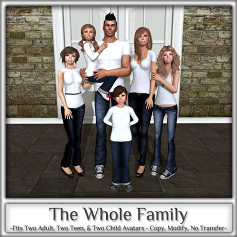 a family tradition second life for a second empire second life marketplace magnifique the whole family