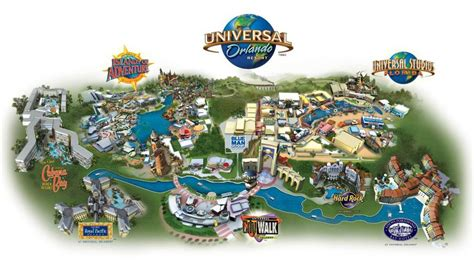 universal orlando map maps of universal orlando resort s parks and hotels