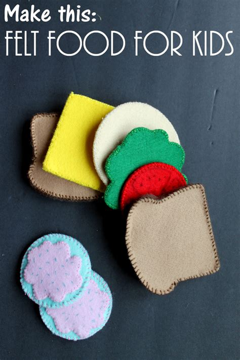 make your own food make your own felt food for with the cricut the country chic cottage