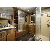 Newmar Essex Diesel Pusher Luxury Motorhome Interior  Bathroom