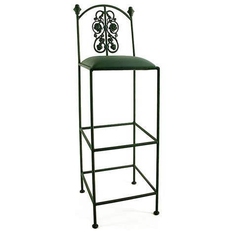 Wrought Iron Bar Stools Outdoor by Garden 36 Quot Wrought Iron Bar Stool Dcg