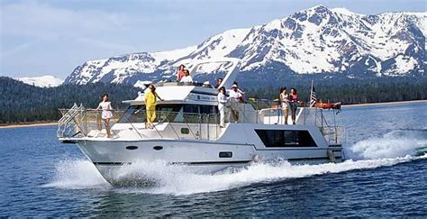 lake tahoe house boat lake tahoe boat rentals the party boat pontoon boat pinterest