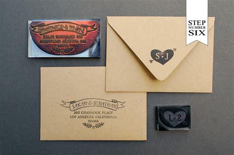 Wedding Invitations Kraft Paper by Diy Tutorial Neon Kraft Paper Wedding Invitations