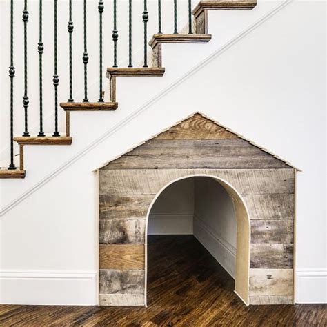 under stairs dog house creative ways to incorporate pet items into your home d 233 cor
