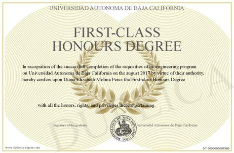 class honours degree