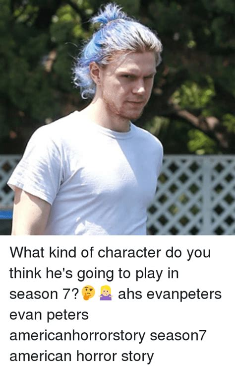 American Horror Story Memes - what kind of character do you think he s going to play in