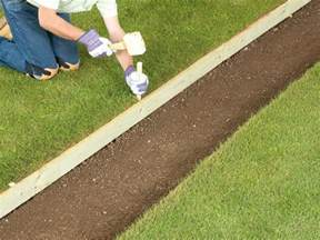 Landscape Edging Using Wood Woodwork How To Build Wood Edging Pdf Plans