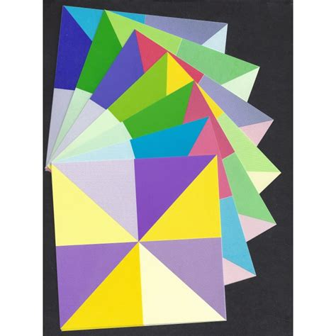 Origami Prism - origami paper prism pattern 120 mm 28 sheets