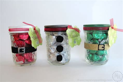 images of christmas jars christmas kisses treat jars the scrap shoppe