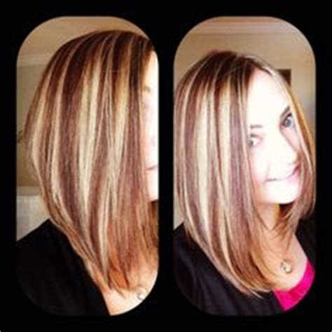 growing out reverse bob fine hair hair on pinterest bangs long a line and reverse ombre