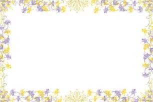 free flower frame or border stock photo freeimages com
