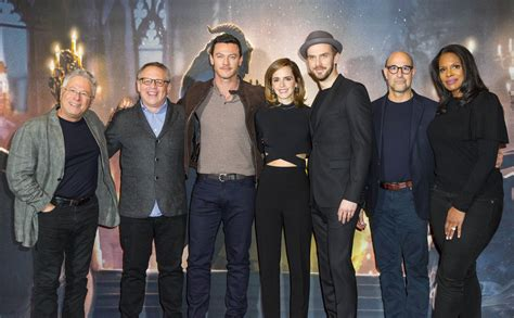 and the beast 2017 cast beauty and the beast cast takes on london screening