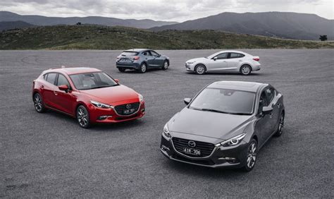mazda range 2016 2016 mazda3 update on sale in australia from 20 490