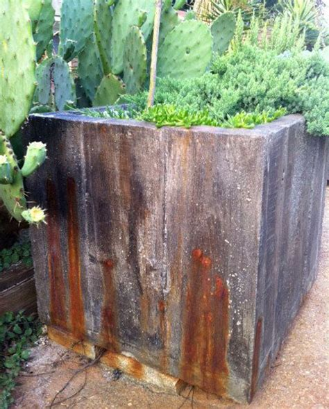 large concrete planter 17 best ideas about large concrete planters on concrete garden concrete pots and