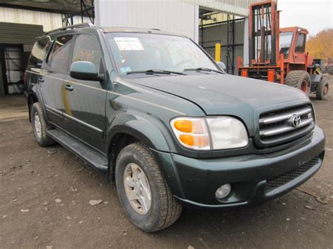 2001 toyota sequoia parts parting out 2001 toyota sequoia stock 110586 tom s