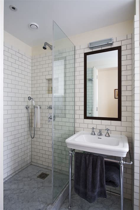 mirrored subway tiles bathroom traditional with black subway tile bathrooms bathroom contemporary with medium
