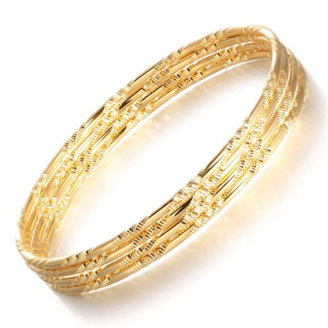 aliexpress buy opk luxury gold color bangles
