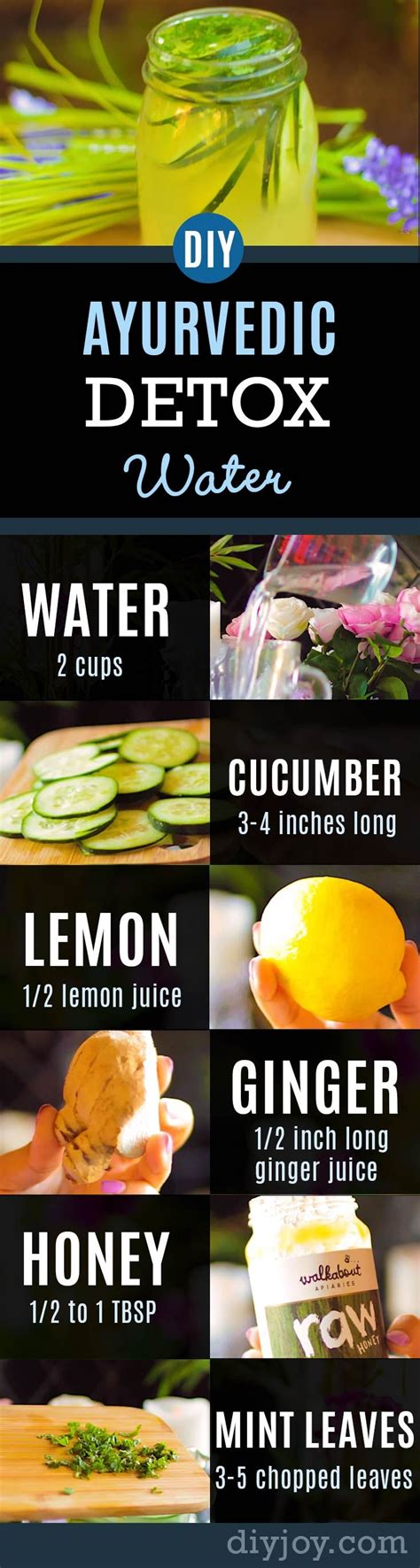 Clear Skin Detox Book by Ayurvedic Detox Water Recipe Promotes Healthy Clear