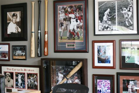 sports themed desk accessories diy how to keep pictures frames in place for a gallery
