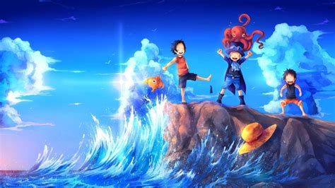 1920 x 1080 anime wallpaper one piece one piece ace wallpapers wallpaper cave