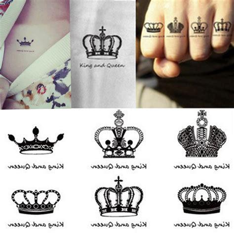 pattern temporary tattoo 2016 new creative design crown pattern temporary tattoos