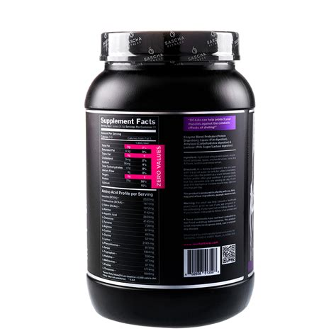 Whey Fitnes sascha fitness hydrolyzed whey protein isolate 2 lb