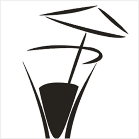 mixed drink clipart black and white cocktail clipart 4 free clipart images image 22014