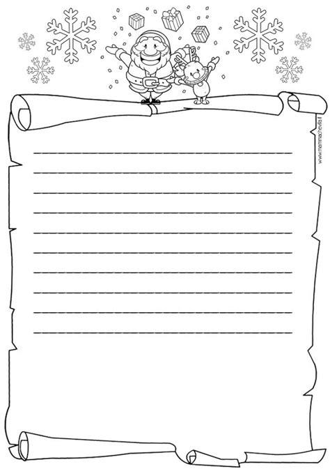 lettere per babbo natale da colorare letterina di babbo natale da scaricare gratuitamente