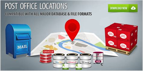 post office locations database usps locations list
