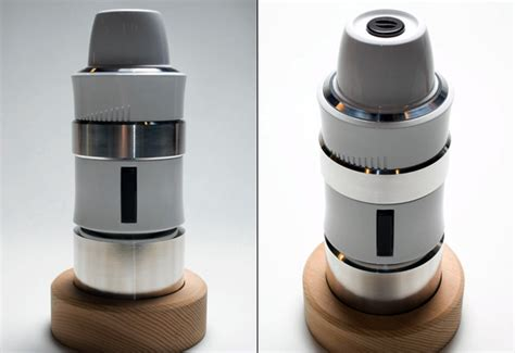 espresso maker design coffee for one please yanko design