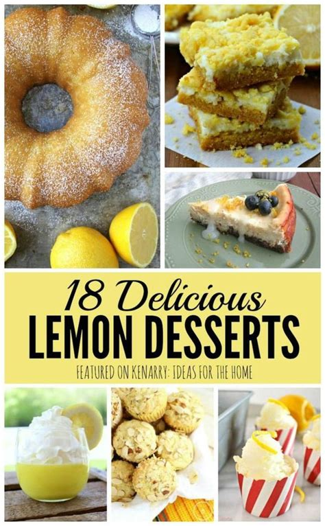 Delicious Pies To Try This Summer by Lemon Desserts 18 Delicious Recipes You Ve Got To Try