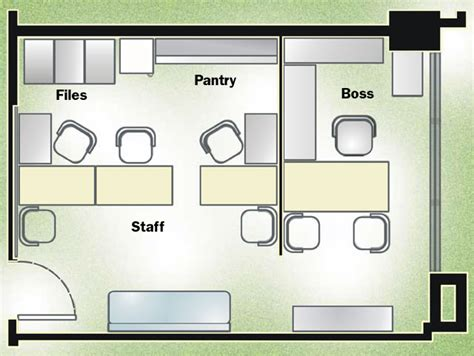 Small Office Floor Plans Design by Unit Plan Civicprime