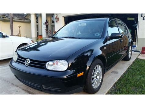 Used Cars Port St Florida by 2004 Volkswagen Golf Sale By Owner In Port Fl