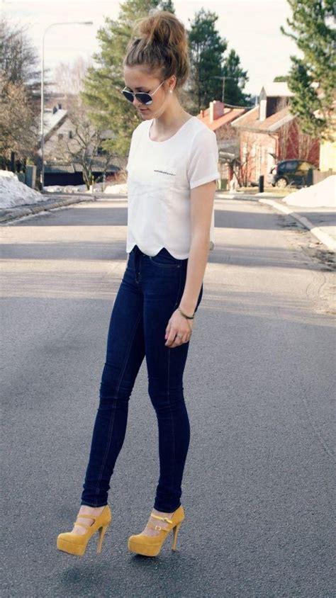 gorgeous ways to wear platform shoes aelida