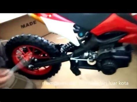 Trail Rakit tutorial rakit motor mini trail kxd type mt02
