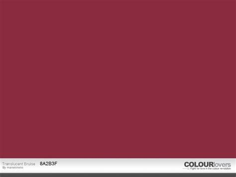 color match for the zyla summer quot claret quot swatch is hex code 8a2b3f named translucent
