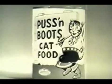 17 best images about puss n boots cat food on cats advertising and 1960s