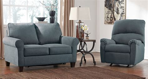 denim living room furniture zeth denim living room set living room sets living room furniture living room