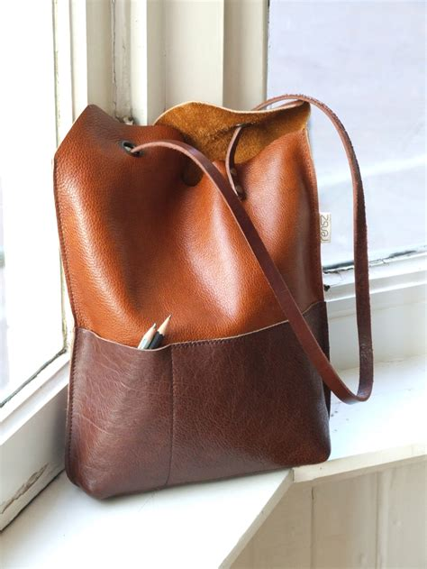 free pattern leather bag leather yin yang bag sewing projects burdastyle com