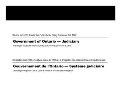public sector salary disclosure 2012 disclosure for 2011 ontario superior court of justice pdfsearch io