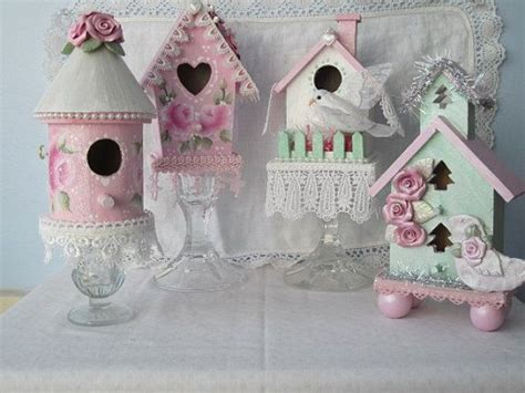 the 25 best shabby chic birdhouse ideas on pinterest