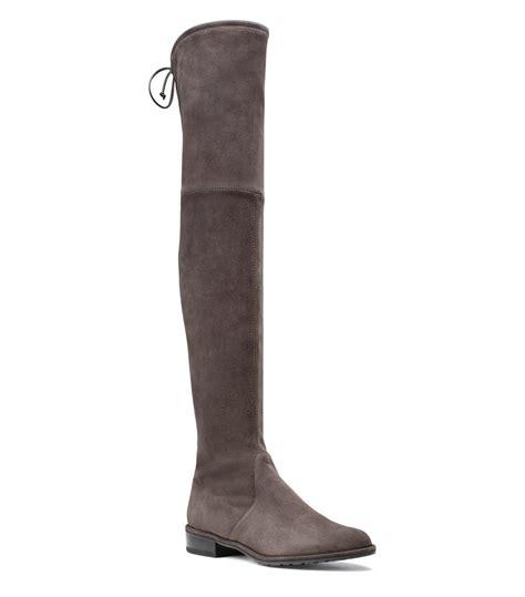 Sepatu Boots Stuart Weitzman lyst stuart weitzman the lowland boot in brown