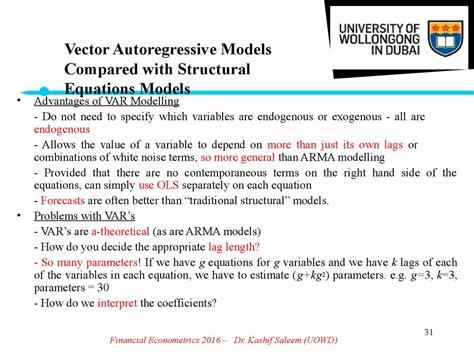 structural vector autoregressive analysis themes in modern econometrics books financial econometrics